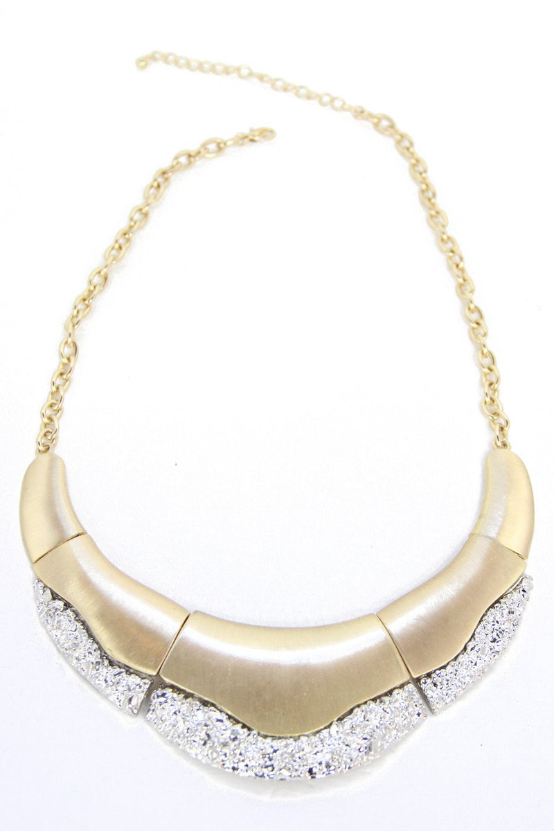 CLEO PLATED NECKLACE - Gold - Haute & Rebellious
