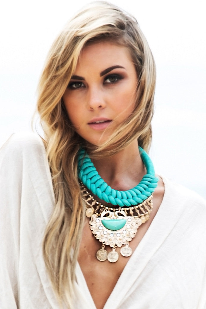 Rope Boho Statement Necklace - Haute & Rebellious