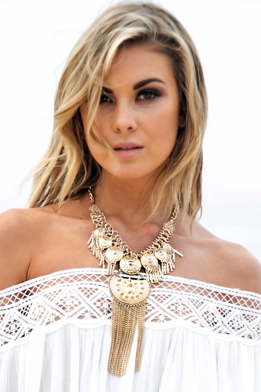 Metal Boho Statement Necklace - Haute & Rebellious