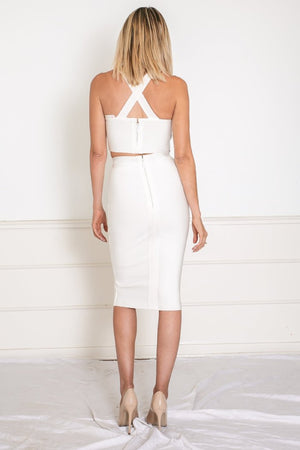 Sophisticated Bandage Two-Piece Set