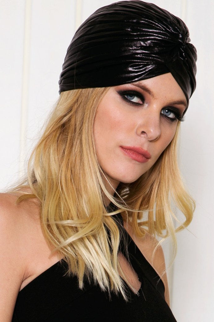 Leather Turban Headband