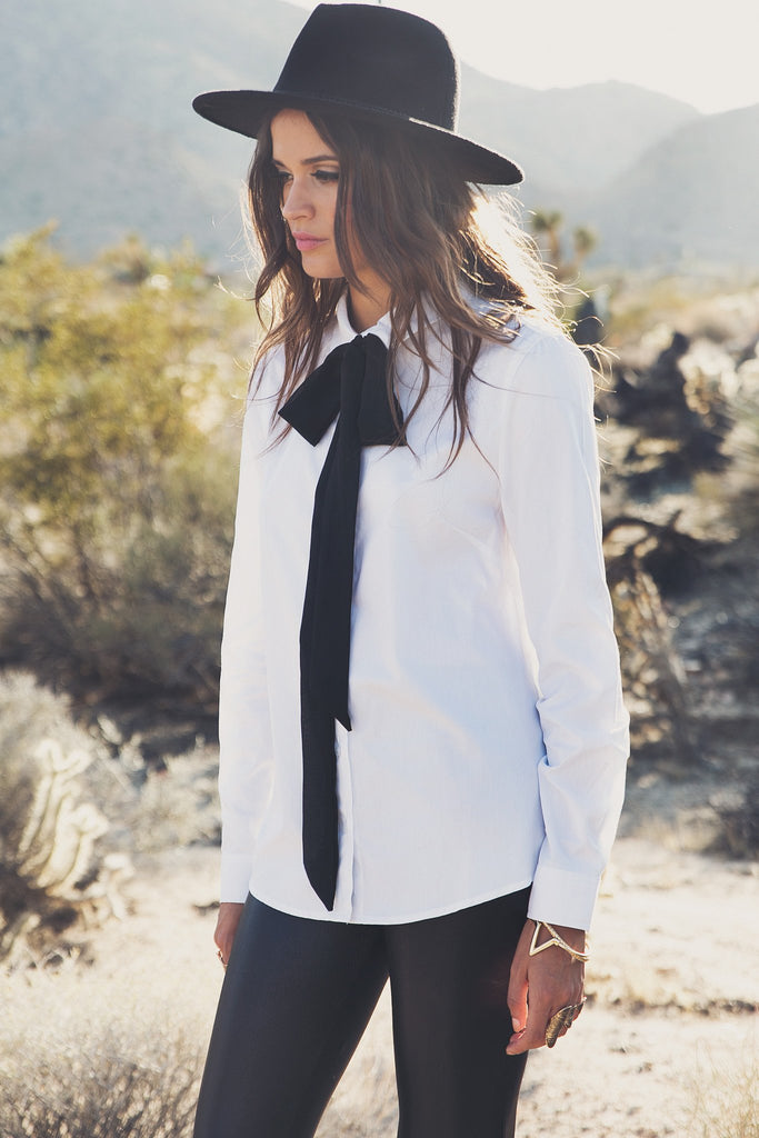 Layla Long Sleeve Button Down Shirt - Haute & Rebellious