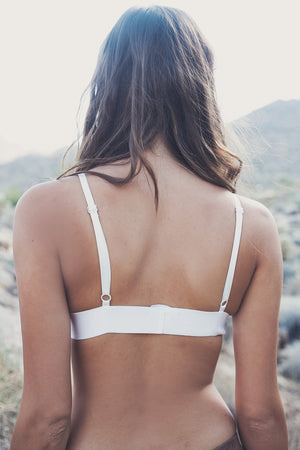 Lexie Lace Bralette - White - Haute & Rebellious