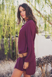 Lilah Flowy Lace-Up Tunic /// Only 1-S Left /// - Haute & Rebellious