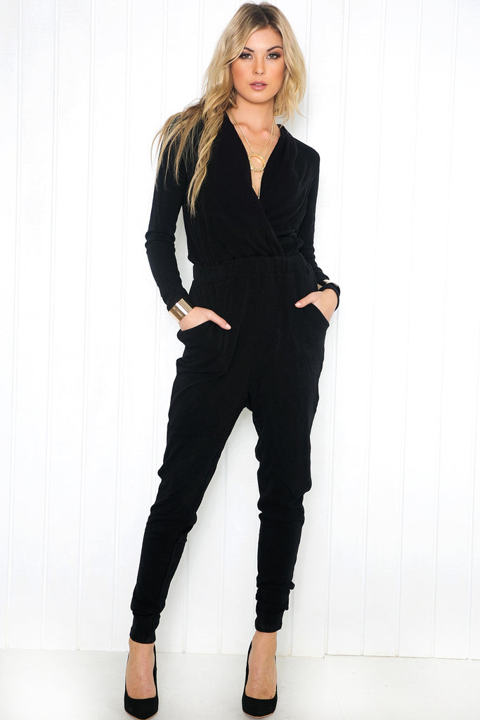 Verallie Long Sleeve Jumpsuit