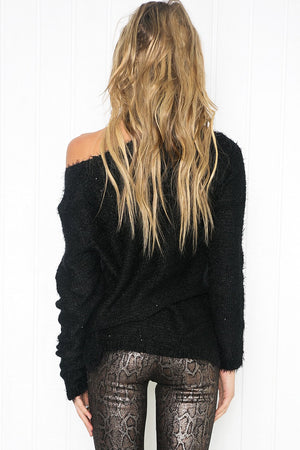 Aryana Super Soft Sparkle Sweater - Haute & Rebellious