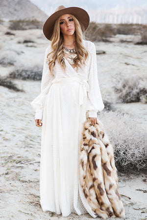 Walking On A Dream Maxi Dress - Haute & Rebellious