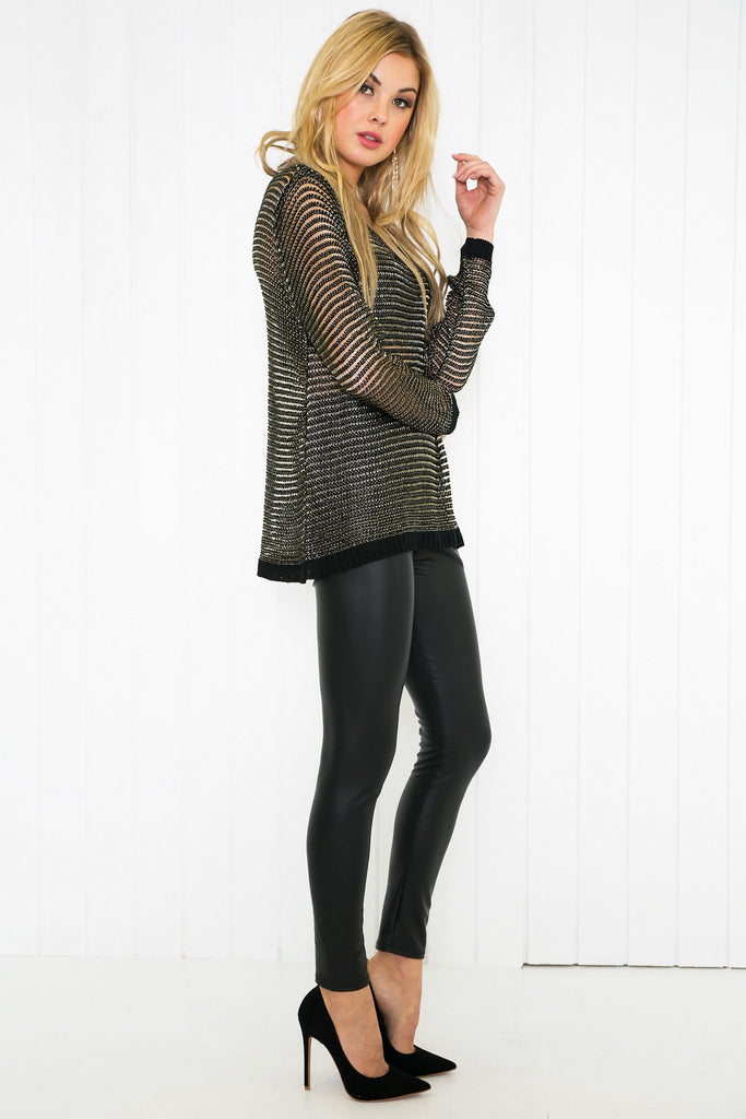 Nayeli Knitted Thin Sweater