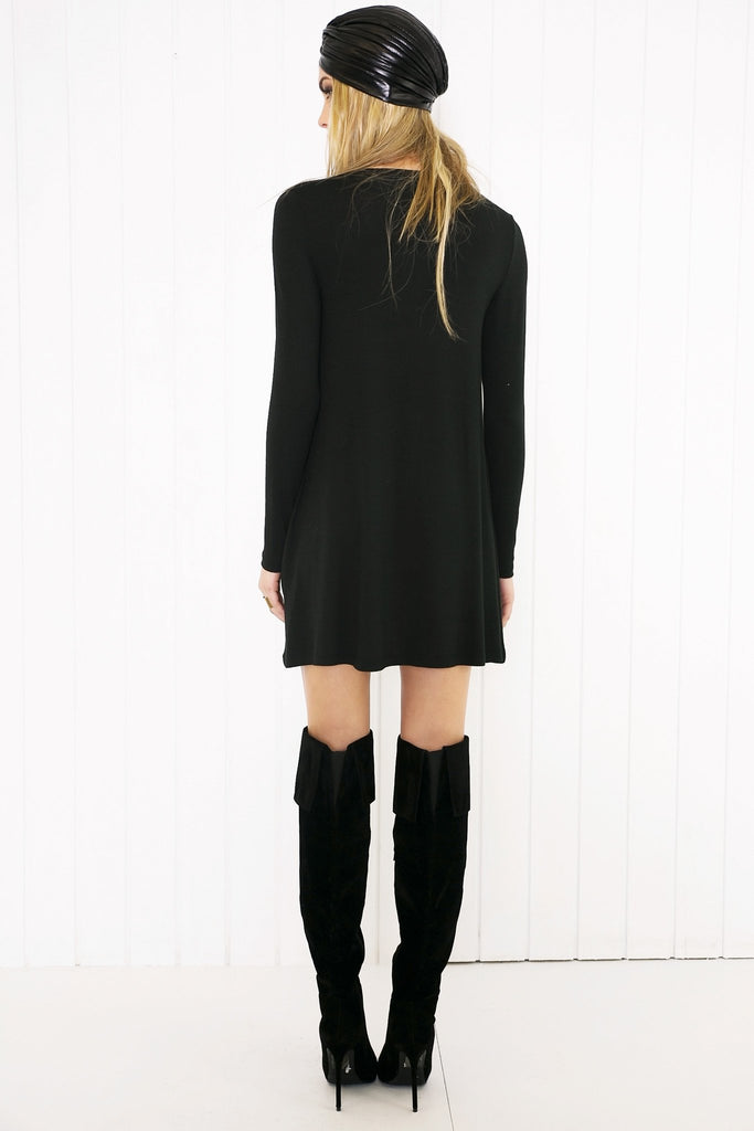 Cadie Long Sleeve Dress