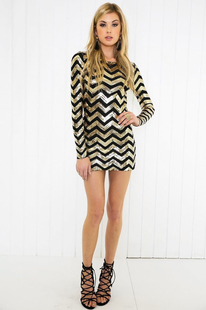 Layah Sequin Dress