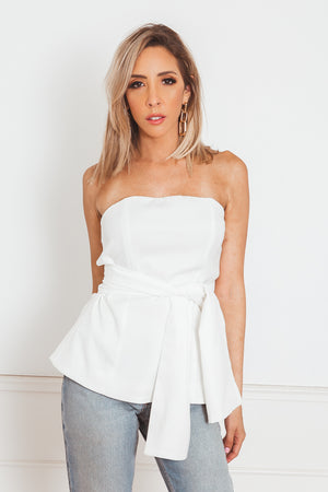 Wrap-Tie Sleeveless Top