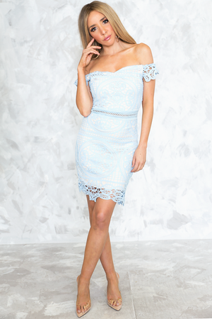 Crochet Body-Con Dress - Haute & Rebellious