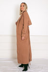 Long Wool Camel Coat