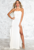 Let It Go Multi Wear Maxi Dress - White /// ONLY 1-L LEFT/// - Haute & Rebellious