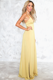 Let You Get Away High-Slit Maxi Dress - Haute & Rebellious