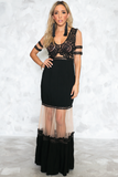 Never-never Land Maxi Dress - Black - Haute & Rebellious