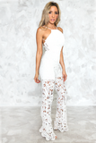 Field of Dreams Jumpsuit - White