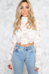 Not This Time Crochet Top - Haute & Rebellious