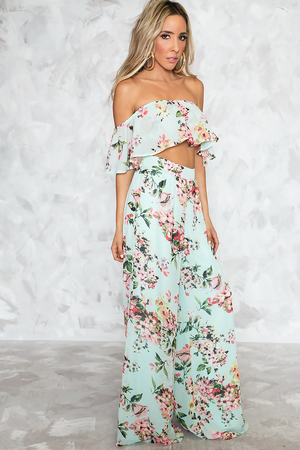 Tropic Mood Floral Set - Haute & Rebellious