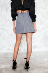 Hey Mama Gingham Ruffle Skirt /// Only 1-M Left /// - Haute & Rebellious