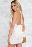 Desert Sunset Crochet Dress - Haute & Rebellious