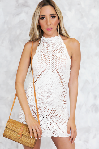MELANIE CROCHET DRESS
