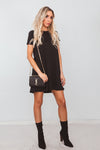 Jersey Mini Dress /// Only 1-L Left ///