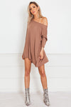 Basic Long Sleeve Bamboo Tee - Mocha
