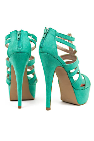 ELECTRIC STRAPPY HEEL - Haute & Rebellious