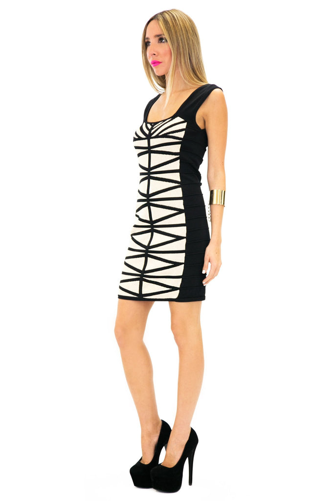 HANNAH BANDAGE BODYCON DRESS