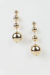 Gold Ball Drop Earrings - Haute & Rebellious
