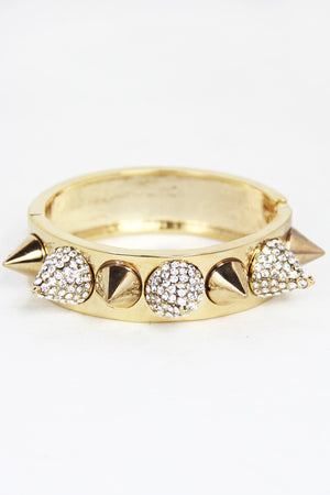 HARD STUDDED BRACELET - Haute & Rebellious