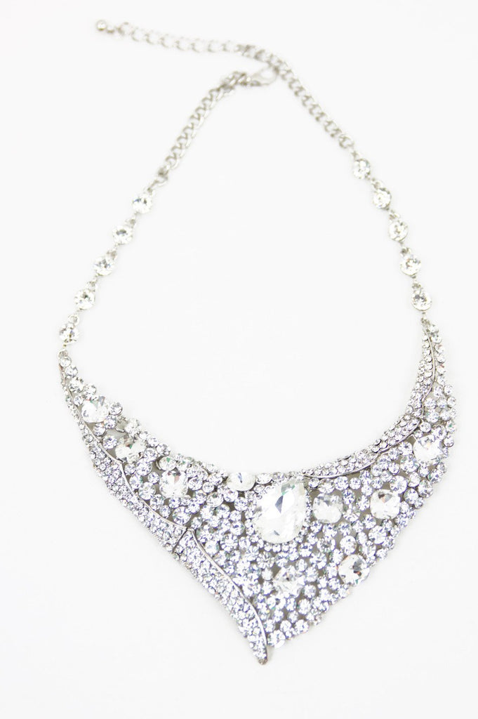 CINDY CRYSTAL NECKLACE