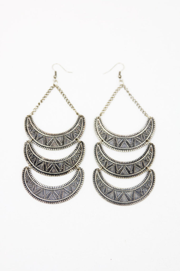 HALF-MOON EARRINGS (Final Sale)