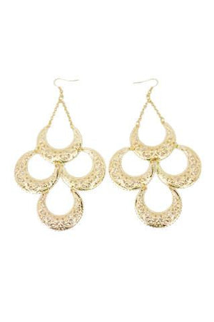 CLEO EARRINGS - Gold - Haute & Rebellious