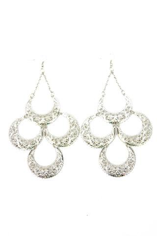 CLEO EARRINGS - Silver