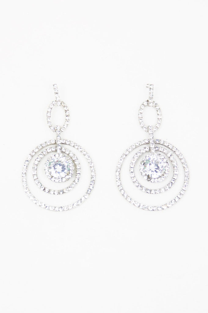 CIRCLES CRYSTAL EARRINGS