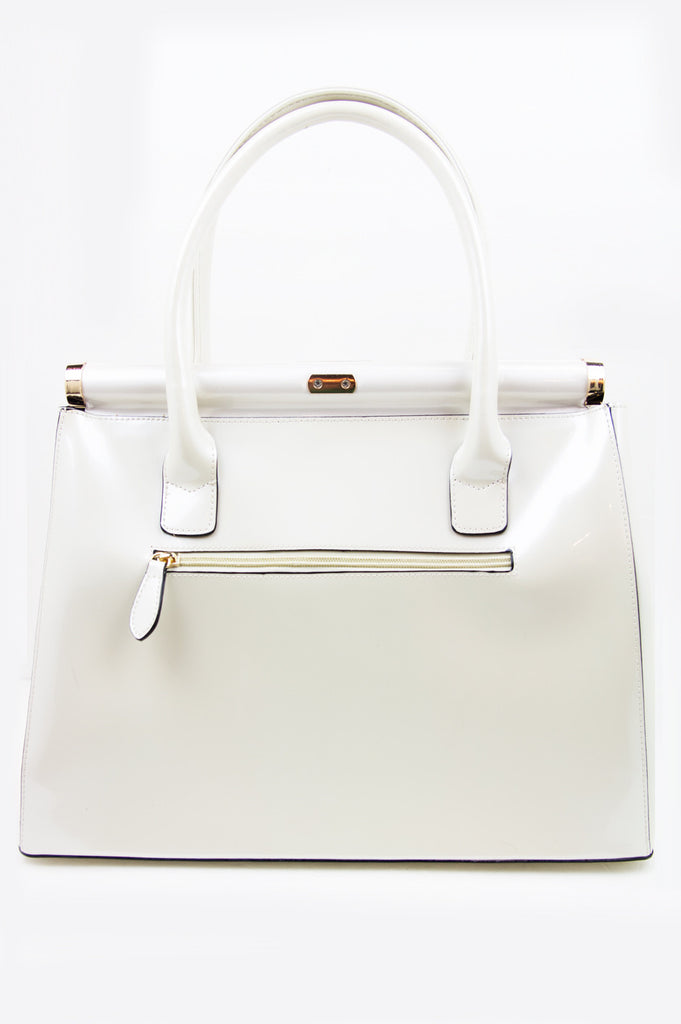 SHINE SATCHEL - Pearl