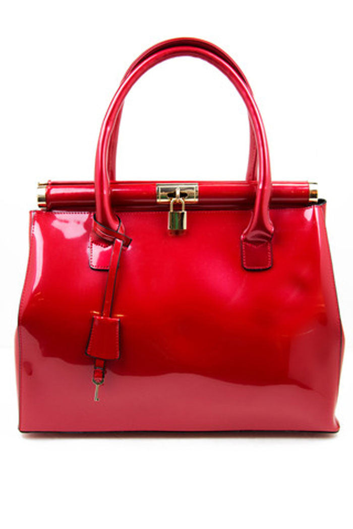 SHINE SATCHEL - Red - Haute & Rebellious