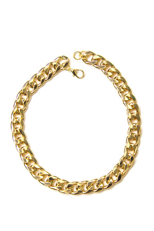 HEAVY TIGHT CHAIN LINK NECKLACE - Haute & Rebellious