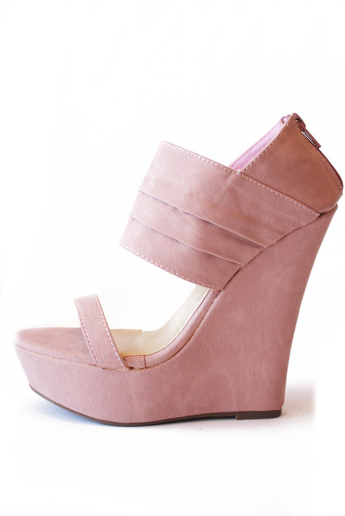 WHITNEY WEDGE - Pink