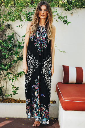 Tropical Escape Maxi Dress - Haute & Rebellious