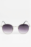 See You Sunday Sunglasses - Silver/Blue