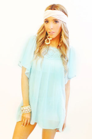 Haute & Rebellious MINT TUNIC in [option2]