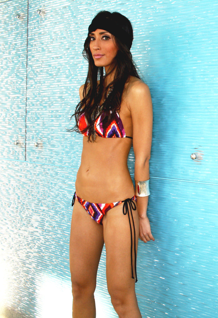 TRIBAL GLAM BIKINI SET (Final Sale)