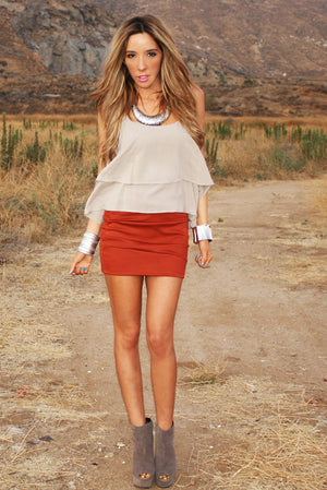 NEW MEXICO SKIRT - Haute & Rebellious