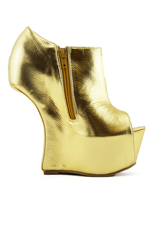 PIPPA HEELLESS - Gold - Haute & Rebellious