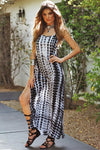 In To The Night Tie Die Maxi Dress - Haute & Rebellious