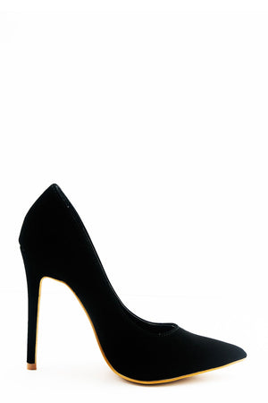 Black Velvet Pump - Haute & Rebellious