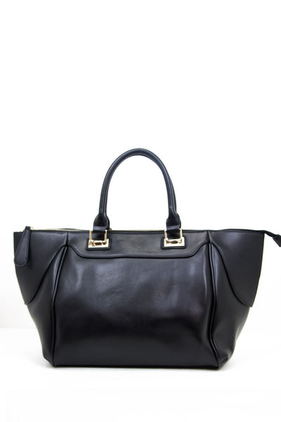 LARGE SATCHEL BAG - Black - Haute & Rebellious